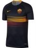 Training Trikot Shirt Als Roma Nike vor dem Spiel Dry Top Herren 2018 19 Original Herren Schwarz