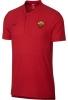 As Roma Nike Polo Maglia Rosso Cotone Grande Slam Sportswear 2018 19