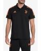 Polo JUVENTUS FC UEFA CHAMPIONS LEAGUE adidas AEROREADY Baumwolle 2020 21 Schwarzer Mann