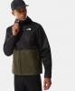 Cape shoulder Rain wind jacket The North Face MILLERTON hood Bronze man