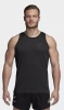 Tank top shirt sleeveless adidas All Blacks Sports Luxury Singlet Black Original Man 2018 19