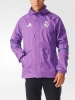 All weather Real Madrid Adidas Giacca Allenamento Training 2016 17 Viola