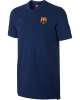 Barcellona Nike Polo Maglia shirt Authentic Grand Slam Blu 2017 18 Cotone