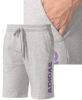 Real Madrid Adidas Pantaloncini Shorts sweat Uomo Grigio 2017 con tasche