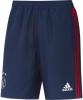 Ajax Amsterdam Adidas Pantaloncini Shorts Woven Blu tasche con zip 2017 18 Uomo