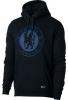 sweatshirt hoodie Pullover Chelsea Nike 2017 18 Black man