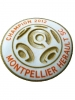 Official Patch Badge official x Shirt Montpellier LFP French Champion 2012 Lextra SportingID Sencilia
