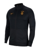 Pre match jacket Galatasaray Nike L96 men's 2020 21 Black pockets with zip