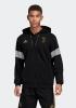 Sport Sweatshirt Jacke JUVENTUS adidas Hoodie 3 Streifen Full Zip Original Herren 2019 Schwarz
