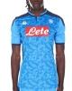 SSC Napoli Kappa Kombat Pro Euro Maglia Shirt Match Uomo Azzurro 2019 20 Home