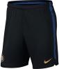 Inter fc Nike Pantaloncini Shorts Dry Squad Training Nero 2018 19
