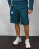 walking shorts SSC Napoli kappa ALIZIP 4 pockets with zip BLUE WHITE men 2020 21