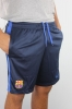 Barcellona Nike Pantaloncini Shorts Knit Longer Blu 2016 17 Uomo TASCHE ZIP