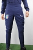 Pants suit Italy FIGC Puma Woven Peacoat Presentation Men\'s 2018 blue pockets with zip