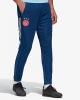 Training Suit Pants AJAX Original adidas Man 2020 21 Blue Pockets with zip