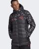 Bomber Down Jacket Padded jacket MANCHESTER UNITED SSP Black Original adidas Man 2019 20