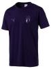 Italia FIGC Puma maglia maglietta T-Shirt tempo libero tee Uomo Blu Tee Team