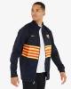 Pre Match jacket suit Barcelona FC Nike L96 Blue Men\'s 2019 20 pockets with zip