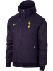 Tottenham Hotspur Nike Giacca vento pioggia k-way Viola Windrunner 2017 18