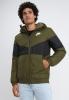 Nike Bomber Giubbino Down Bubble Padded jacket Sportswear Synthetic Fill Verde