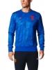 Sweatshirt sports Manchester United Special Season Pes Original adidas Men 2017 blue