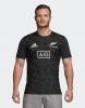 Training Jersey Shirt All Blacks New Zeland Adidas Performance Tee Men 2018 19 Black