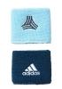 Adidas Tango Polsini Braccialetti tergi sudore Wristbands Unisex Blu