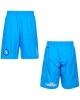 SSC Napoli Kappa Pantaloncini Shorts rappresentanza Azzurro tasche con zip
