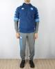 Presentation Tracksuit Napoli kappa ABEOD 2 Euro Hoodie UEFA CHAMPIONS LEAGUE bench version 2019 20 man Blue