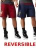 Adidas Pantaloncini Shorts Blu 2017 Basket NBA Cleveland Cavaliers reversibili