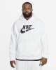 Nike Sportswear Club Fleece Cotton man hoodie with pockets White
