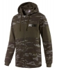 Sport Jacket Puma Camo Full Zip Hoodie Fleece cotton man Green