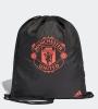 Manchester United Adidas Sacca Rucksack Gymsack Borsa tg Unisex 2018 19 Nero