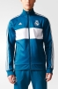 Real Madrid Adidas Giacca Allenamento Blu Track Top Uomo 2017 18
