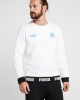 Sport Top Sweatshirt Olympique Marseille Puma Olympique de Marseille CULTURE Crew cotton 2019 20 white man
