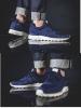 New Balance 574 MS Scarpe Sneakers Ginnastica Tennis LifeStyle Blu Uomo