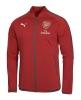 Arsenal Fc Puma Giacca Pre Gara Pre match jacket Rosso Stadium 2017 18 Uomo