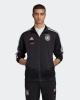 Sportanzug Jacke DEUTSCHLAND DFB adidas Track Top 3 Streifen Euro 2021 Mann mit Reißverschlusstaschen Schwarz