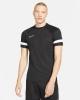 training shirt Nike df academy 21 top short sleeves Black White