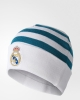 Real Madrid Adidas 3S WOOLIE Cappello di lana invernale hat cap Bianco 2017 18