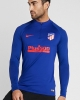 Training Sweatshirt ATLETICO MADRID Nike Drill Top Half zip Men\'s  2020 Blue Original