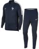 Francia Nike Tuta Allenamento Dry Squad knit Blu Mondiali Russia 2018