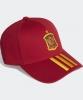 Spagna Spain Adidas Cappello Berretto Unisex Rosso 3 Stripes cotone Euro 2021