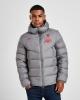 Padded Bomber Jacket LIVERPOOL LFC Nike Down Fill 2020 21 Men Gray