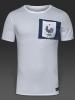 Francia France Nike T-shirt tempo libero Uomo Bianco 2017 Cotone
