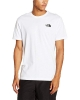 Leisure t-shirt The North Face RED BOX Cotton short-sleeved T-shirt Man White