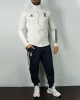 Training tracksuit JUVENTUS adidas Pes Bench version original Man 2020 21 White