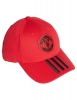 baseball Cap MANCHESTER UNITED Adidas 3 Stripes 2019 Red