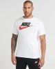 t-shirt leisure nike NSW TEE ICON FUTURA Cotton White