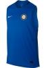 Inter fc Nike Maglia Allenamento Training Blu 2017 18 squad Uomo smanicato
